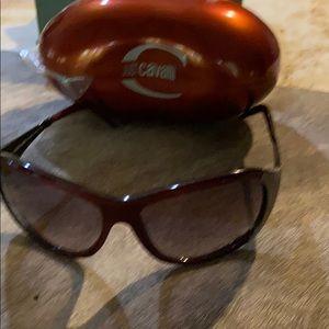 Roberto  avlli sunglasses with a case